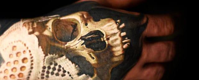 80 Skull Hand Tattoo Designs For Men – Manly Ink Ideas