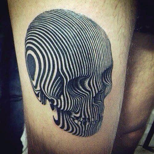 Skull Tattoo Designs For Men
