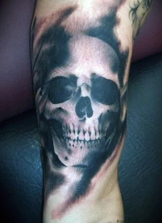Skull Head Tattoos