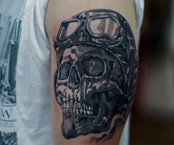 Skull Tattoos Ideas For Men
