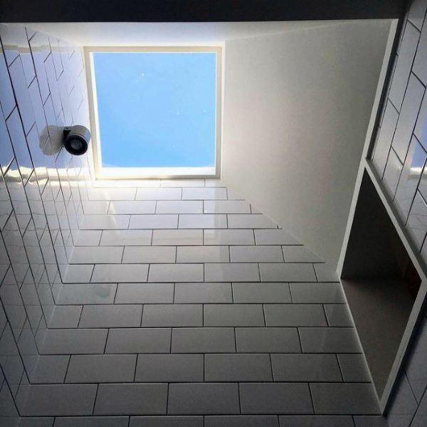 Skylight Bathroom Ceiling Ideas