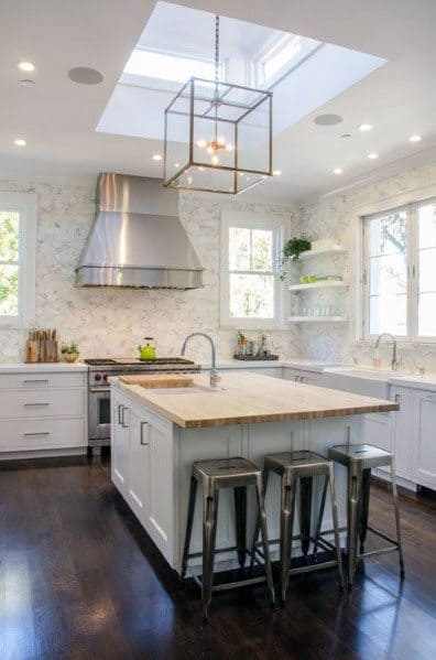 Skylight Excellent Interior Ideas Kitchen Ceiling