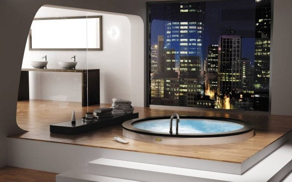 Skyline View Bathroom