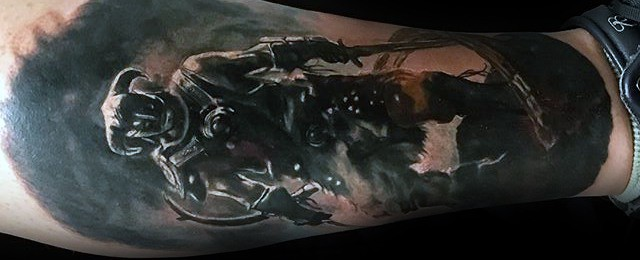 Skyrim Tattoo Designs For Men