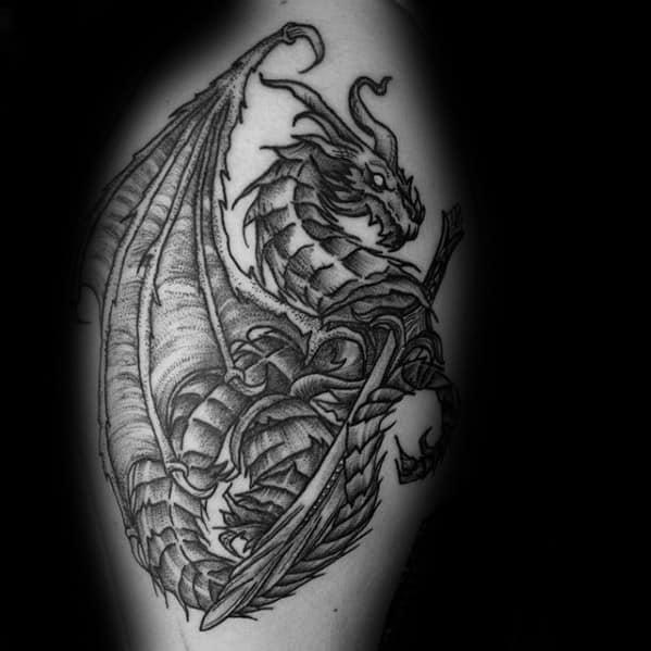 Skyrim Tattoos Men On Arm