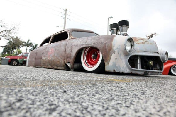 Slammed Air Suspension Bags Extreme Rat Rods
