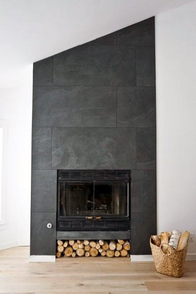 Slate Design Ideas For Fireplace Tile