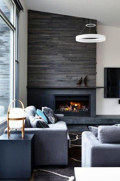 Slate Fireplace Tile Ideas