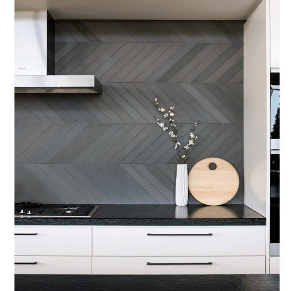 Slate Grey Kitchen Backsplash Ideas