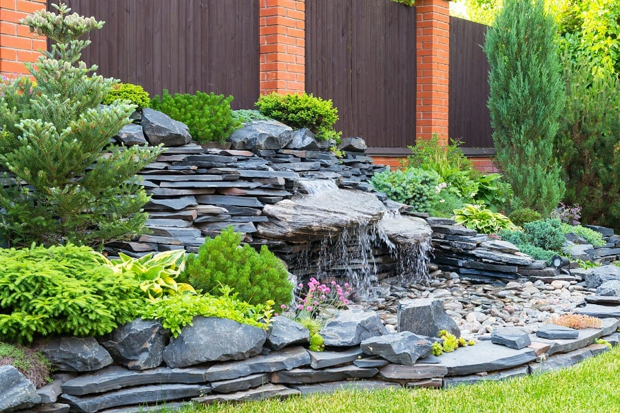 Incredible Backyard Rock Landscaping Ideas