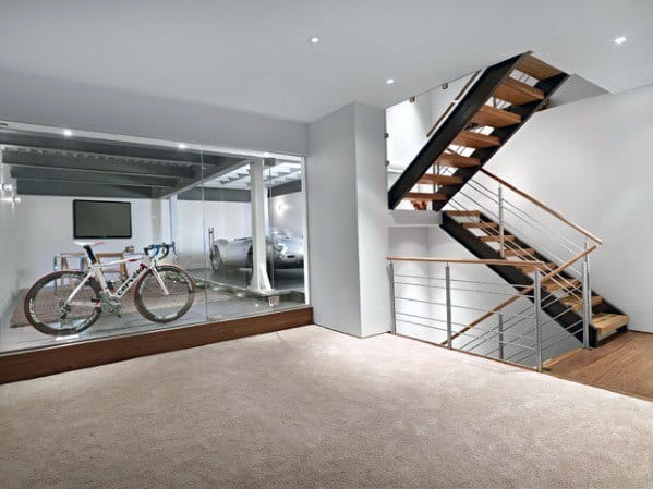 Sleek Basement Stairs Ideas