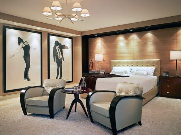 Sleek Bedroom Lighting Ideas