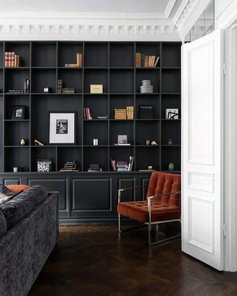 Sleek Built In Bookcase Ideas