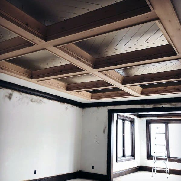 Sleek Coffered Ceiling Ideas
