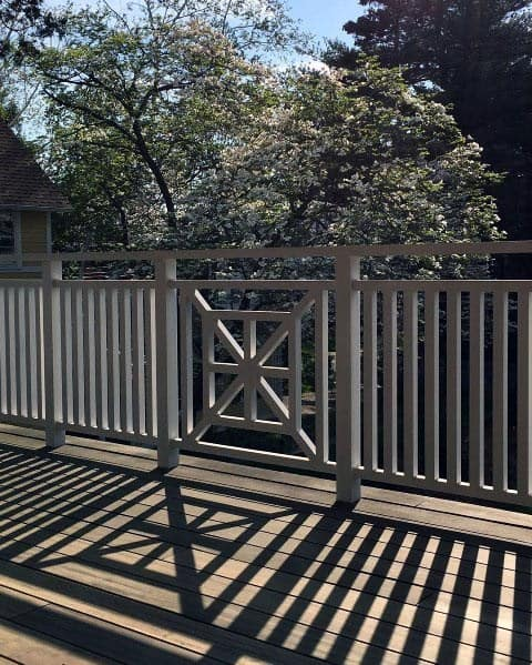 Sleek Deck Railing Ideas