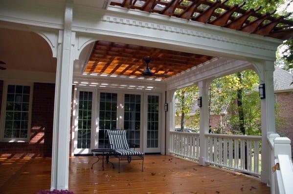 Sleek Deck Roof Ideas