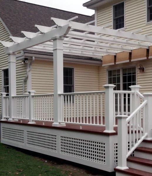 Top 50 Best Deck Skirting Ideas Elevated Backyard Designs
