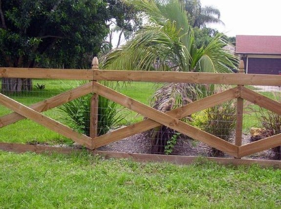 Sleek Dog Fence Ideas
