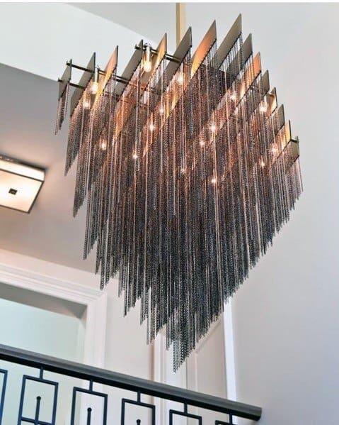Sleek Foyer Lighting Ideas