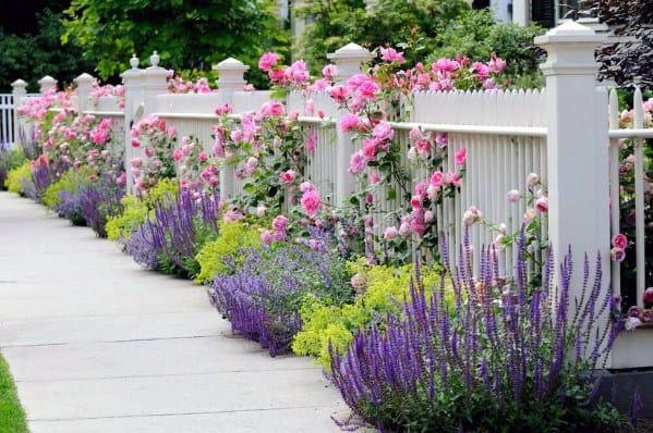 Sleek Front Yard Fence Ideas