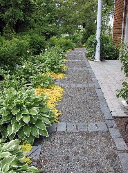 Sleek Gravel Walkway Ideas