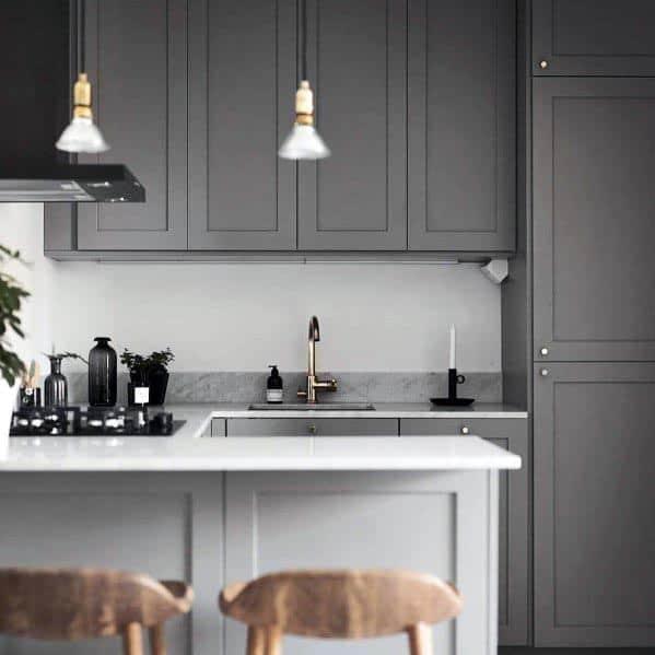 Sleek Grey Kitchen Ideas