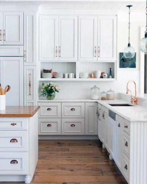 Sleek Kitchen Cabinet Hardware Ideas