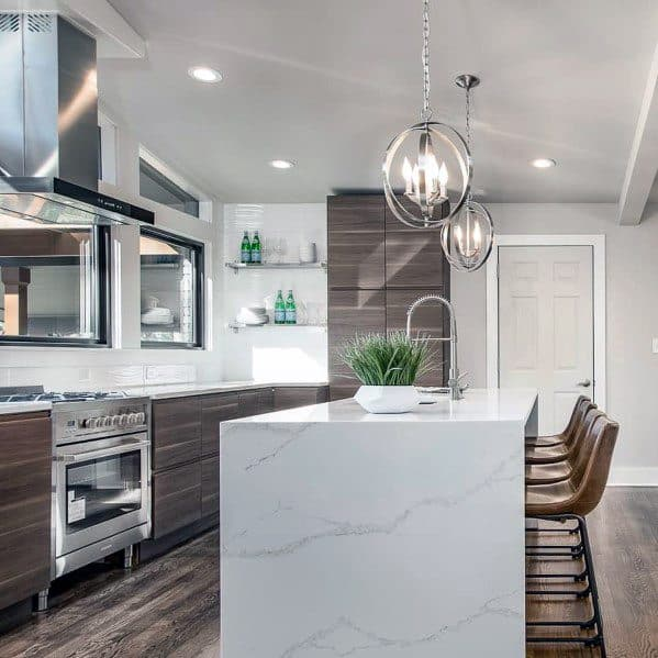 Sleek Kitchen Design: Top 50 Best Kitchen Island Lighting Ideas