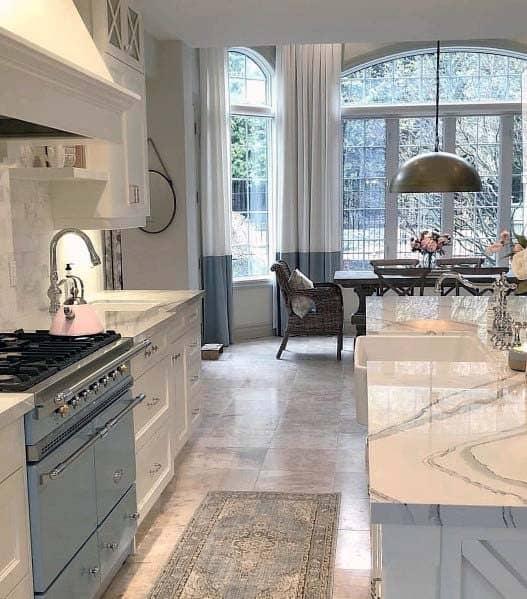 Sleek Kitchen Tile Floor Ideas