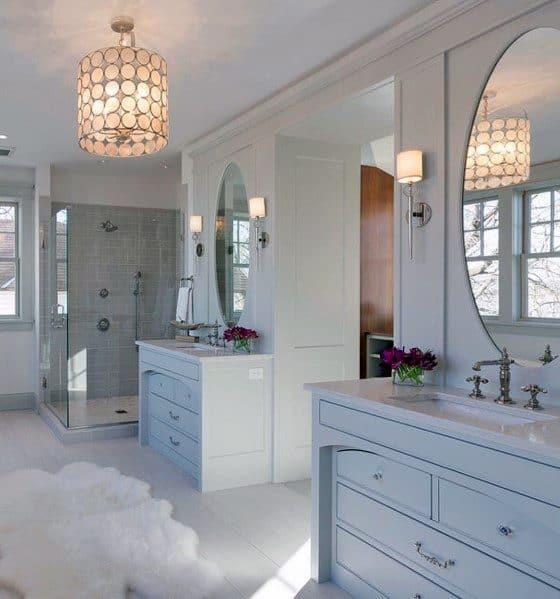 Sleek Master Bathroom Ideas