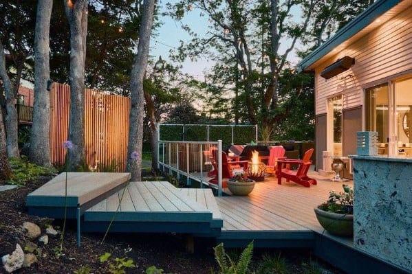Sleek Modern Deck Ideas