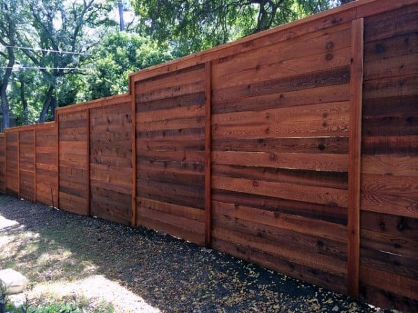 Sleek Privacy Fence Ideas Wood