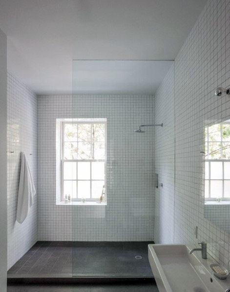 Sleek Shower Window Ideas