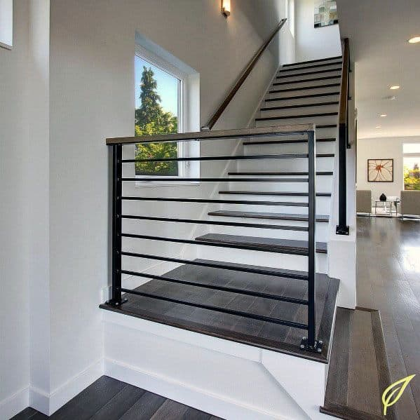 Sleek Stair Railing Ideas