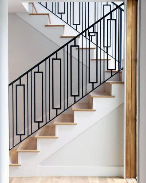 Sleek Stair Trim Ideas