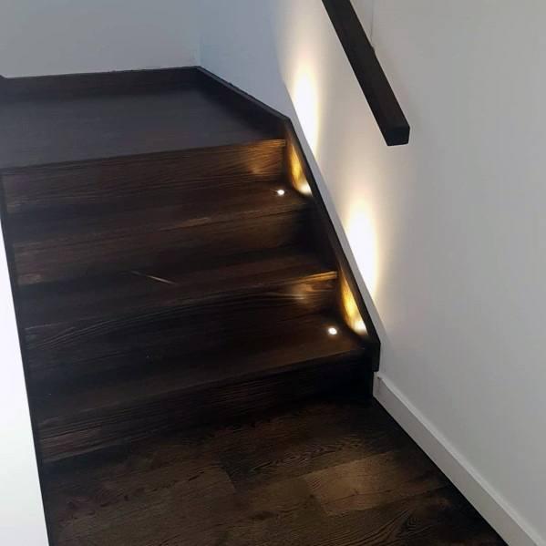 Sleek Staircase Lighting Ideas