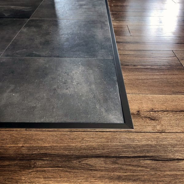 Sleek Tile To Wood Floor Transition Ideas
