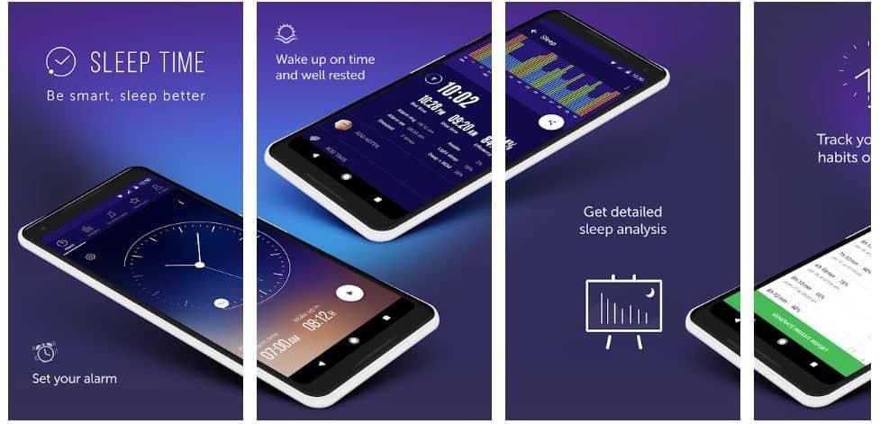 sleep time men workout android app screenshot