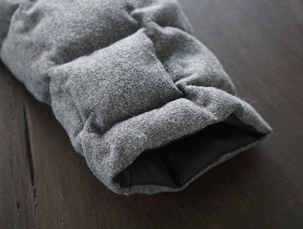 Sleeve Cuff With Elastic Band Nau Utility Wool Down Jacket For Men