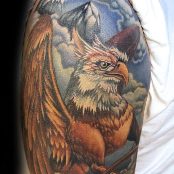Sleeve Guys Griffin Tattoo Ideas