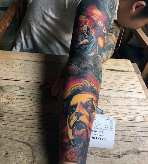 Sleeve Slipknot Mens Tattoo Ideas