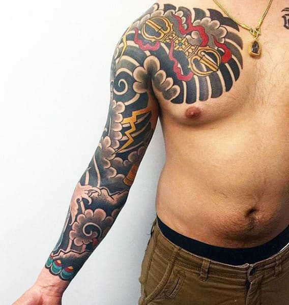 Sleeve Tattoos For Men With Waves