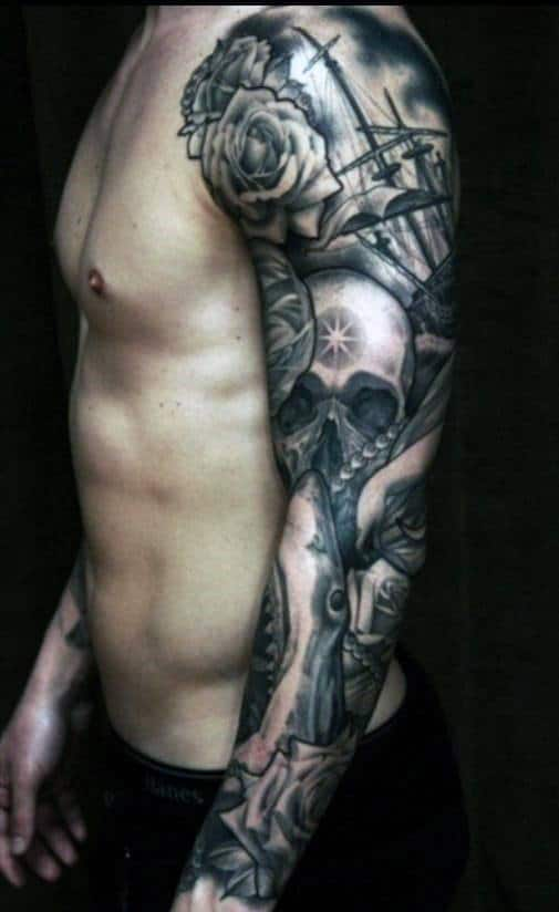top 100 best sleeve tattoos for men cool designs and ideas