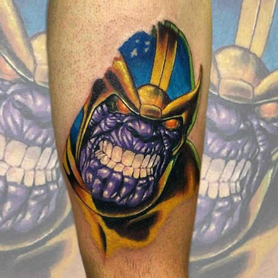 Sleeve Thanos Tattoo Nikkotattoos.ink