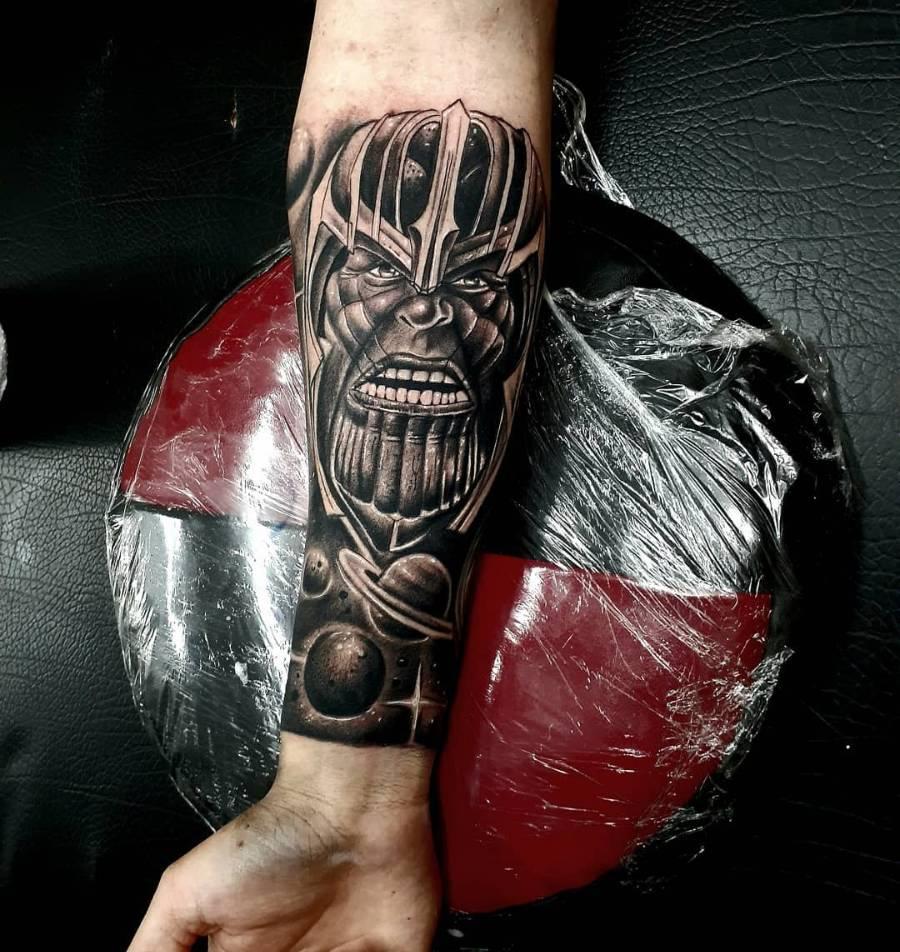 Sleeve Thanos Tattoo Ramirottatoo