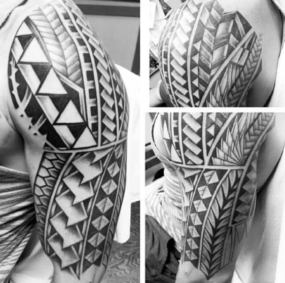 Sleeve Tribal Tattoos On Men