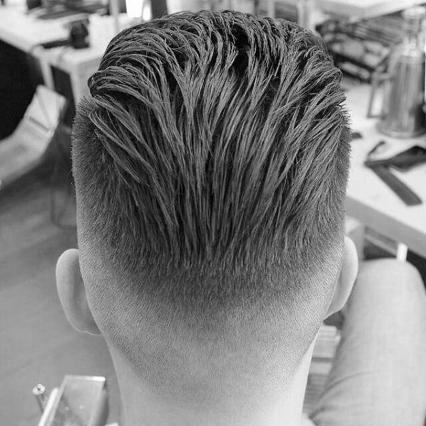 Slick Back Guys Long Hair