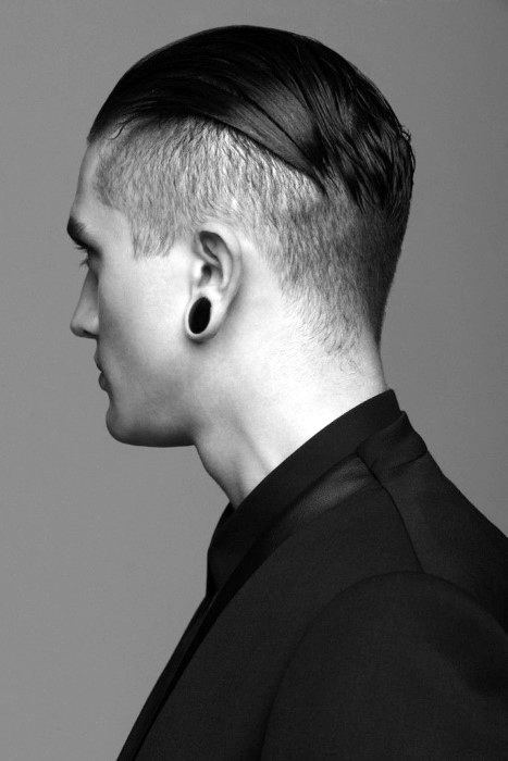 Slick Back Hair For Men