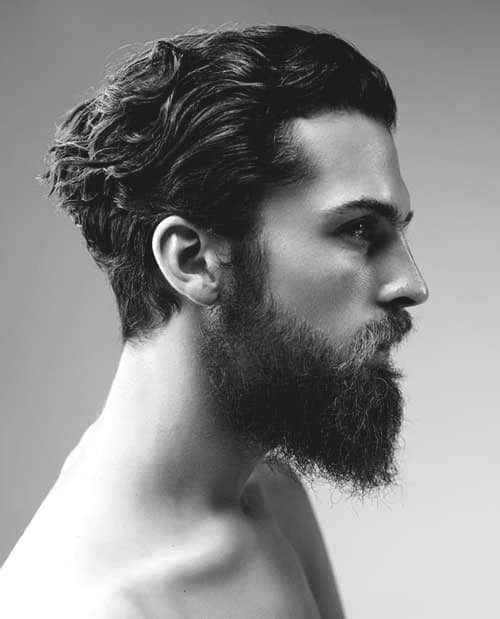 Slicked Back Mens Stylish Hairstyles