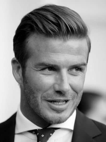 Slicked Back Short Hairstyles For Men